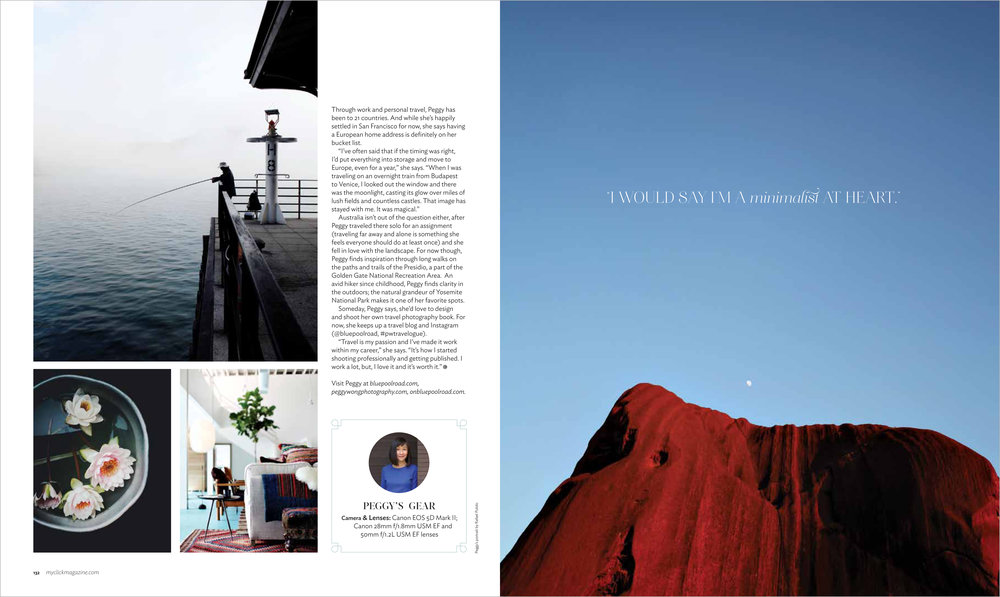 Peggy Wong Photography / profile feature on Peggy Wong in Click Magazine