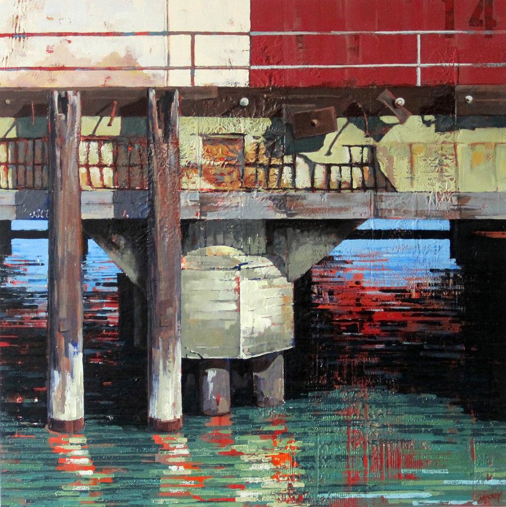 Pier Posts Fort Mason