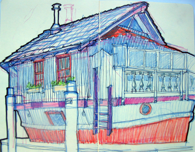 Sausalito Houseboat No 10