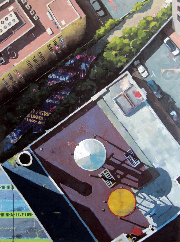 "High Line @ W 25th  48"" x 36"""