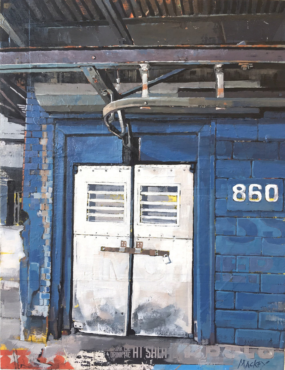 "Meatpacking District, 16"" x 12"""