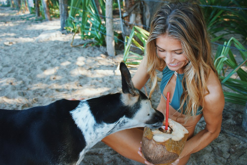 Even If they only want my coconut water... They still cute ☺�