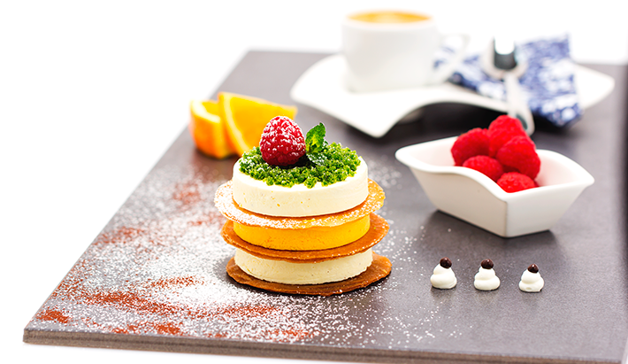 Orange and Advocaat Parfait