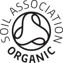 Look for this stamp on products if been approved by the Soil Association.