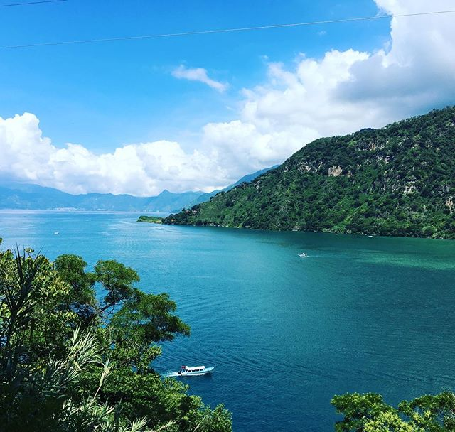 For all of us stuck in rainy England today, lets all take 2 minutes to transport ourselves somewhere sunny and beautiful!! ☀️This is @lynnelambourne happy sunny place .. #lakeatitlan  in #guatemala one of the most stunning places to visit!! Blog on her travels there coming soon. Where is your sunny happy place?? Its good to share!!! #rainraingoaway #wanderlust #travelblog #travelblogger