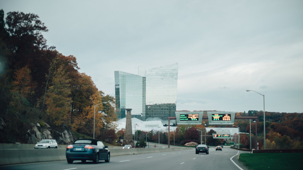 All roads lead to the Mohegan Sun Casino & Hotel