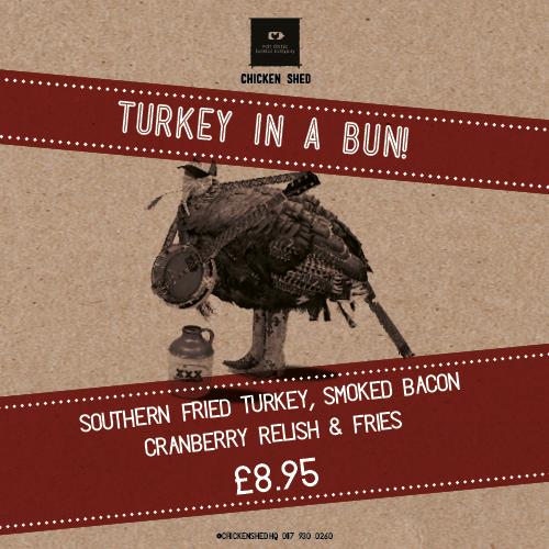 Turkey in a Bun... No harm done!