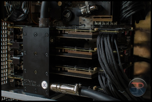 4-way SLI watercooled computer