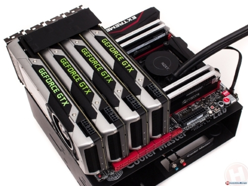 4-Way SLI Gaming PC