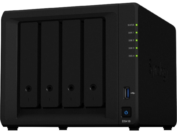 Synology 4 bay DiskStation DS418 (Diskless).jpg