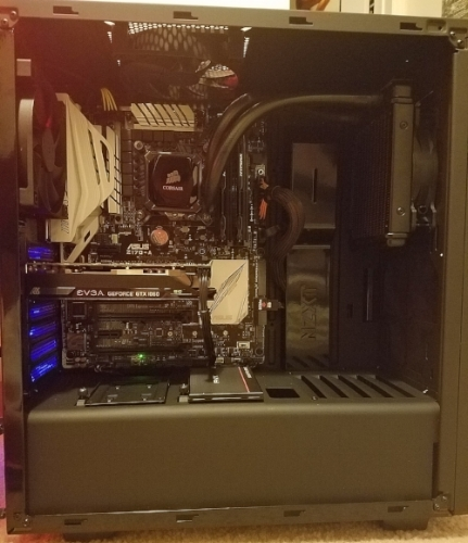 water cooled 1080p gaming computer