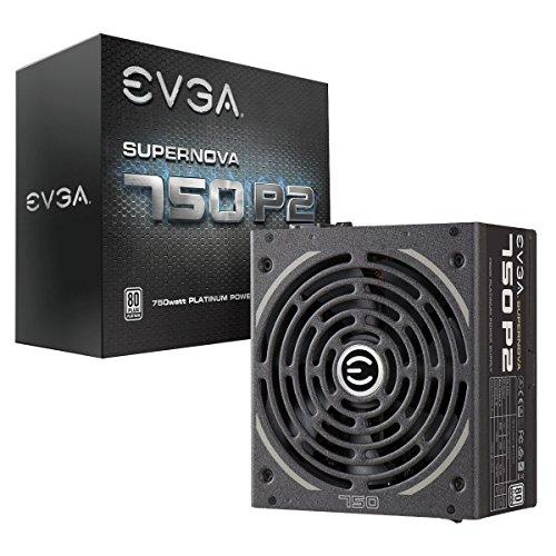 EVGA SuperNOVA P2 750W Fully-Modular Power Supply