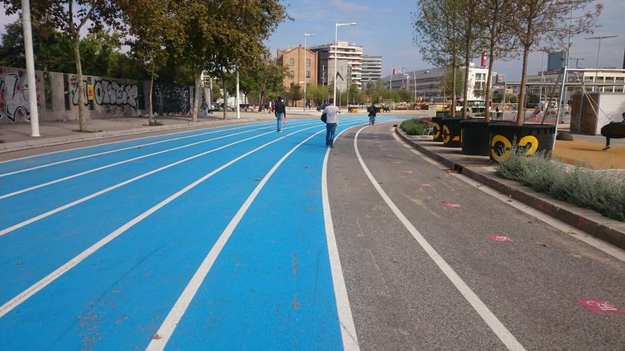 Barcelona Running Track