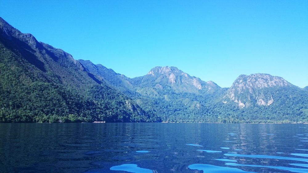 Pemandangan Pagi Perjalanan Sawai ke Desa Saka