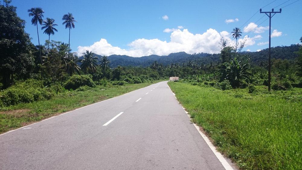Perjalanan Darat Pulau Seram