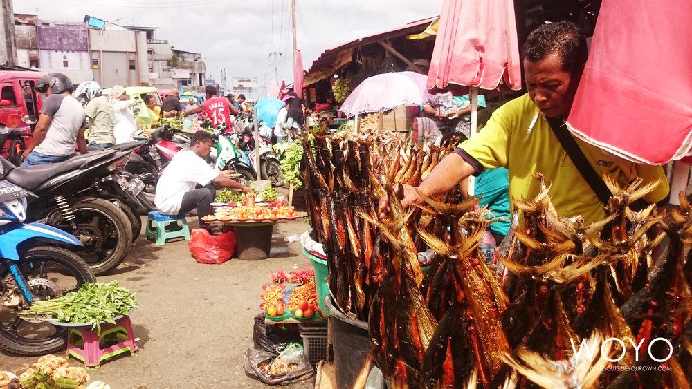 Penjual Ikan Asap Galala Ambon