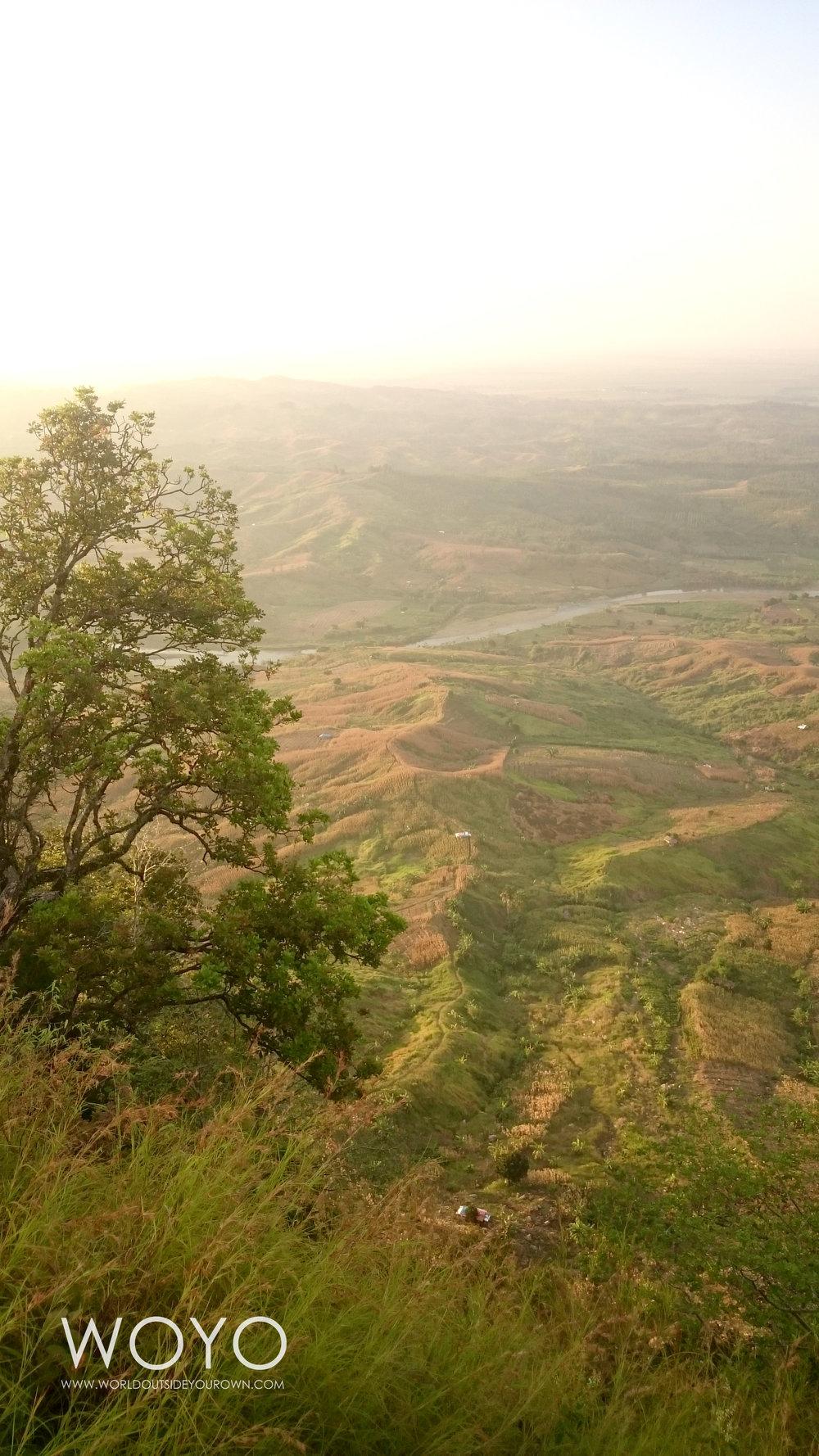 Pemandangan dari Puncak Gunung Gajah, Pemalang