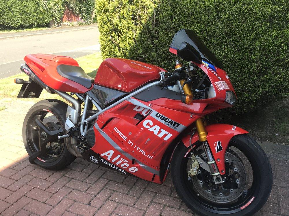Lovely bike. Nasty, nasty fairing.