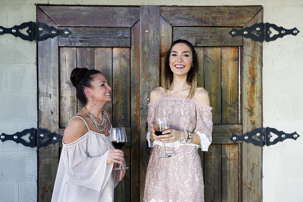 Meet your hosts... - Sandra Augustin & Kiki Athanassoulias
