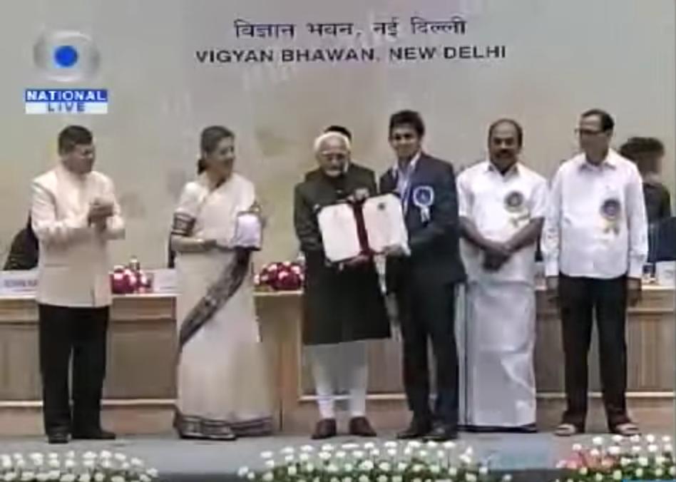 Akshay Roy Wins National Award.png
