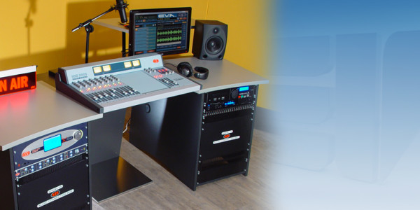 on-air studio