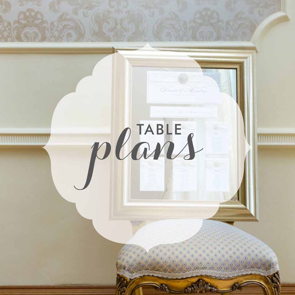 Wedding & Event Table Plans