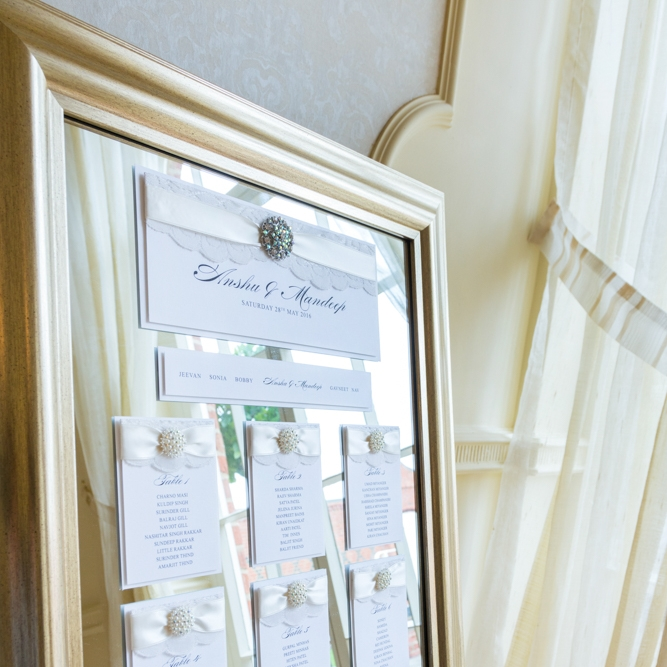 wedding day stationery - table plans, seating cards, menus, place cards and more...