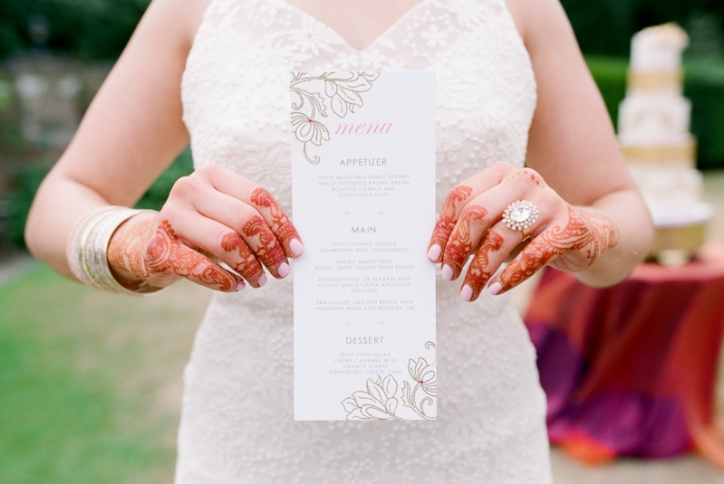 menus & place cards - designing bespoke stationery for your event