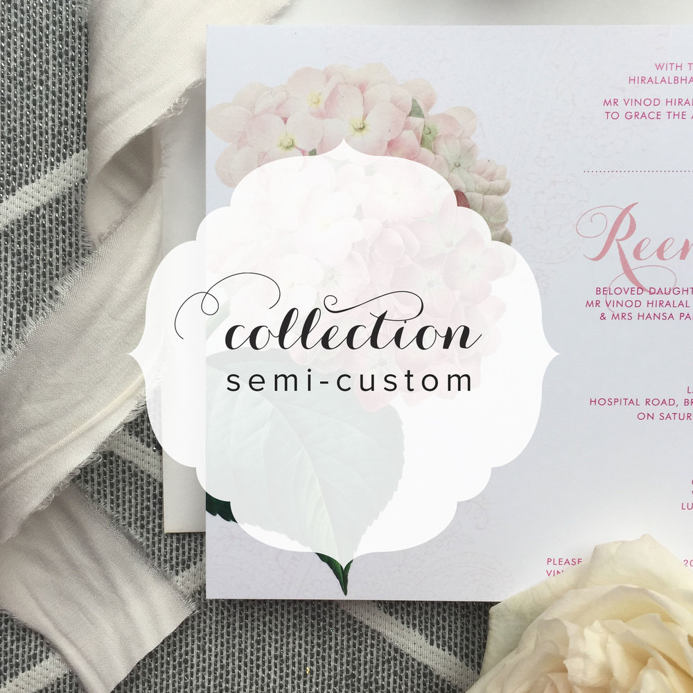 Fusion Wedding Invitation Suite