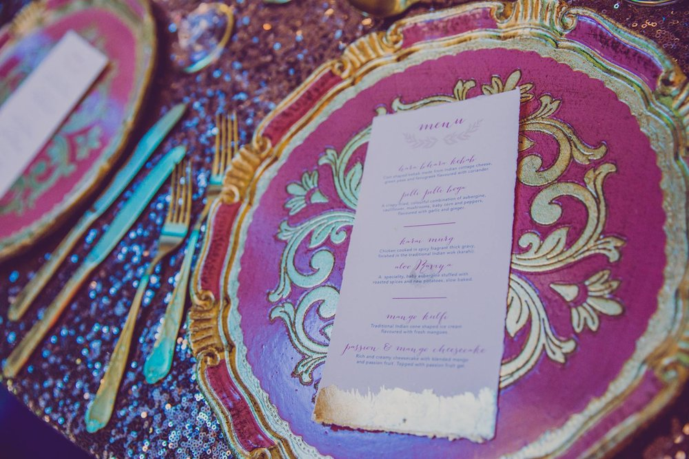 event day stationery - menus, seating plans, escort cards