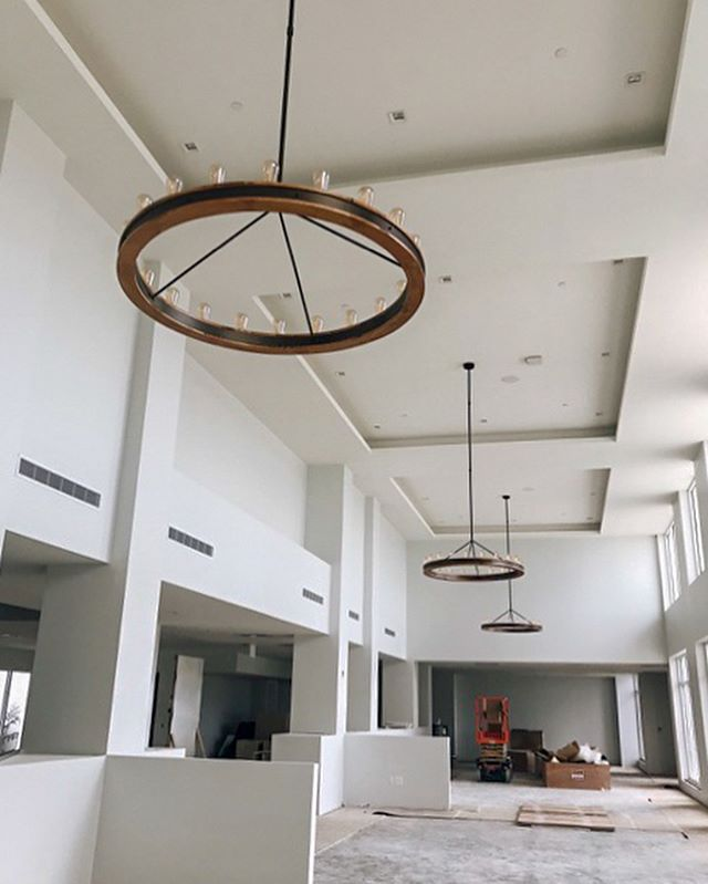 We are excited to share a project update this afternoon! Studio+ has been working hard to perfect every detail at Amavida. Check out some of the new lighting installations on site. #wearestudioplus • • • #architecture #architecturephotography #architect #design #florida #swfl #healthcare #seniorliving #independentliving #assistedliving #memorycare