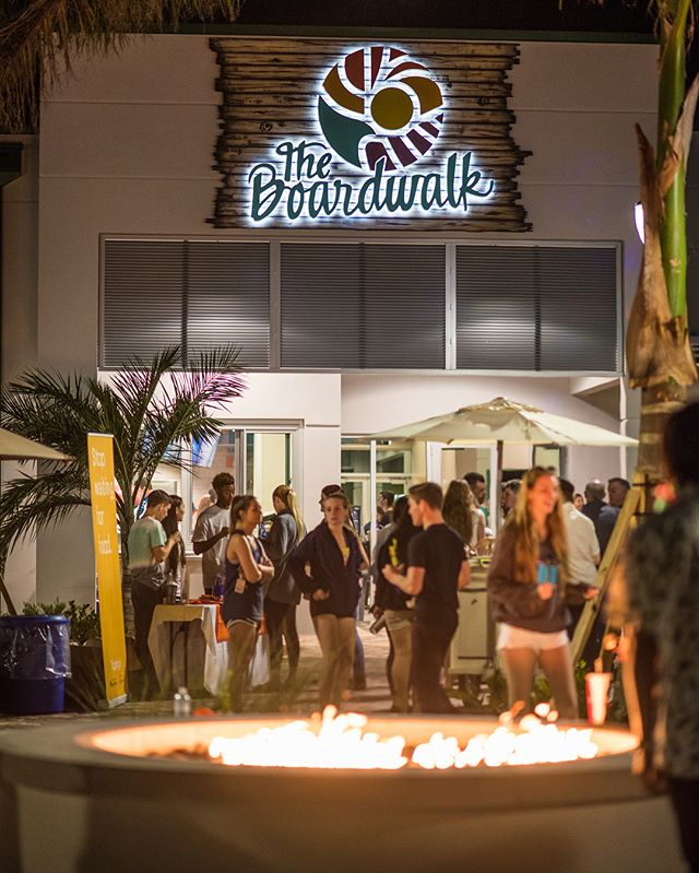 #tbt to the Grand Opening of The Boardwalk at FGCU. This was a great experience for us to work with our local university and ultimately provide them with a space for their students to relax, grab a bite to eat, and study. #wearestudioplus • • • #architecture #education #university #fgcu #studentlife #design #swfl #fortmyers
