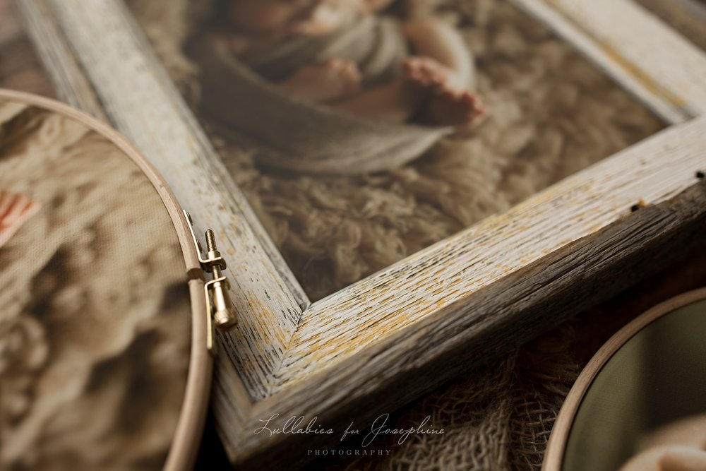 Rustic Frame Detail