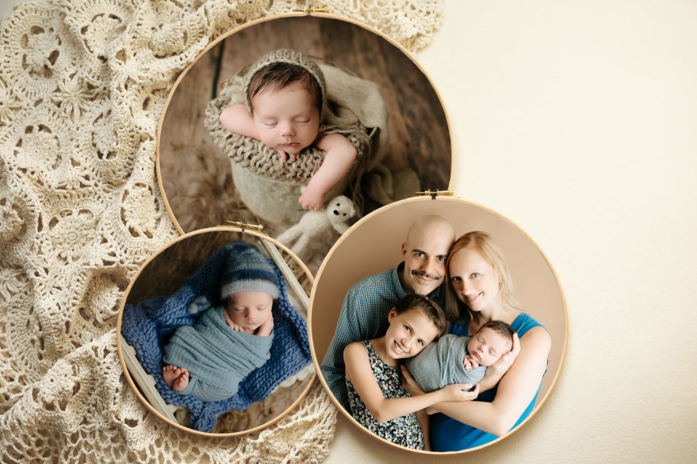 nj-baby-photographer-newborn-session-collage-display