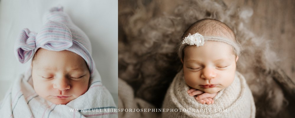 new jersey newborn photographer lifestyle studio baby girl