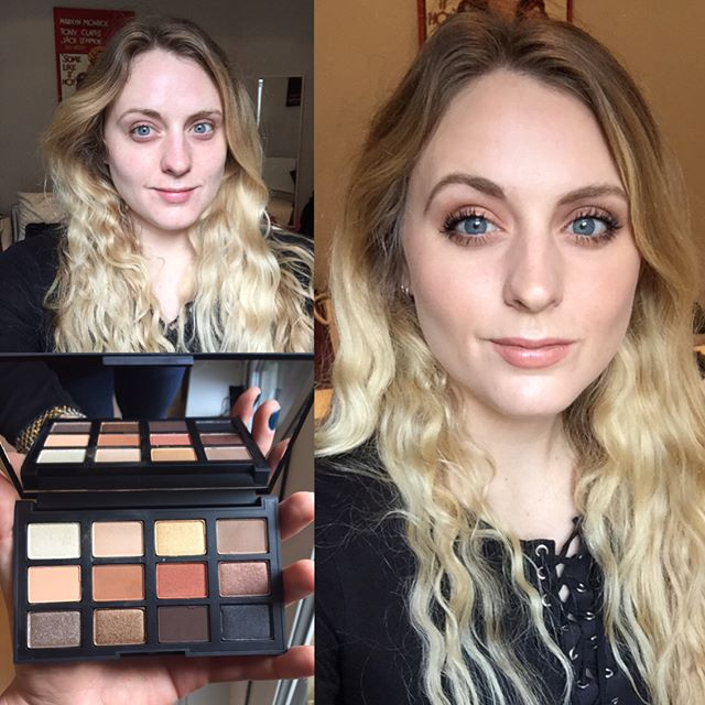 Makeup Therapy - have a grotty cold and feeling generally a bit 💩today but having a play around with my @narsissist Loaded palette has cheered me right up (well, that and Day Nurse 💪). I love this palette muchos. Played with the middle row of warmer shades today, creating a defined but wearable warm brown smokey eye. Paired with nude lips in @ctilburymakeup Penelope Pink (not pink at all-nude) I feel magnificently disguised and ready to face the day!  #nars #narsissist #loaded #smokeyeye #nudelip #charlottetilbury #faceoftheday #fotd #glow #highlighter #hotsand #illuminator #lipstick #lipstickjunkie #beforeandafter #beforeandaftermakeup #nofilter #blackletterbeauty #beautyblogger #beautyblog #makeupblogger #makeupblog #makeupaddict #makeupjunkie #makeupismagic #mua #makeupartist #bbloggersuk #instabeauty #instaglam