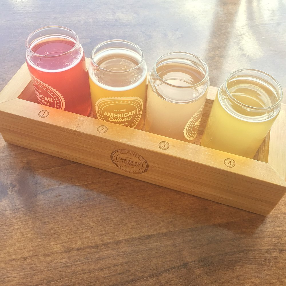 The perfect Kombucha flight.
