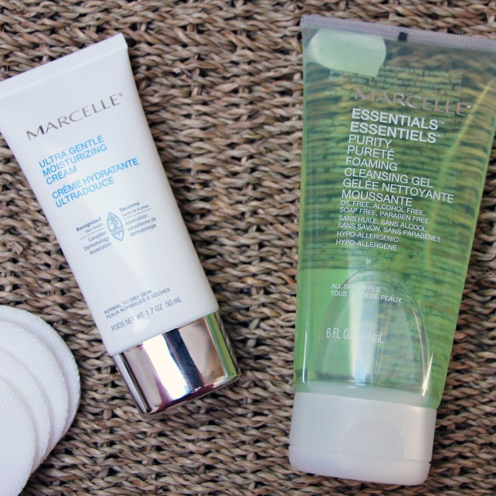 Marcelle Samantha Series Blog Moisturizer Cleanser