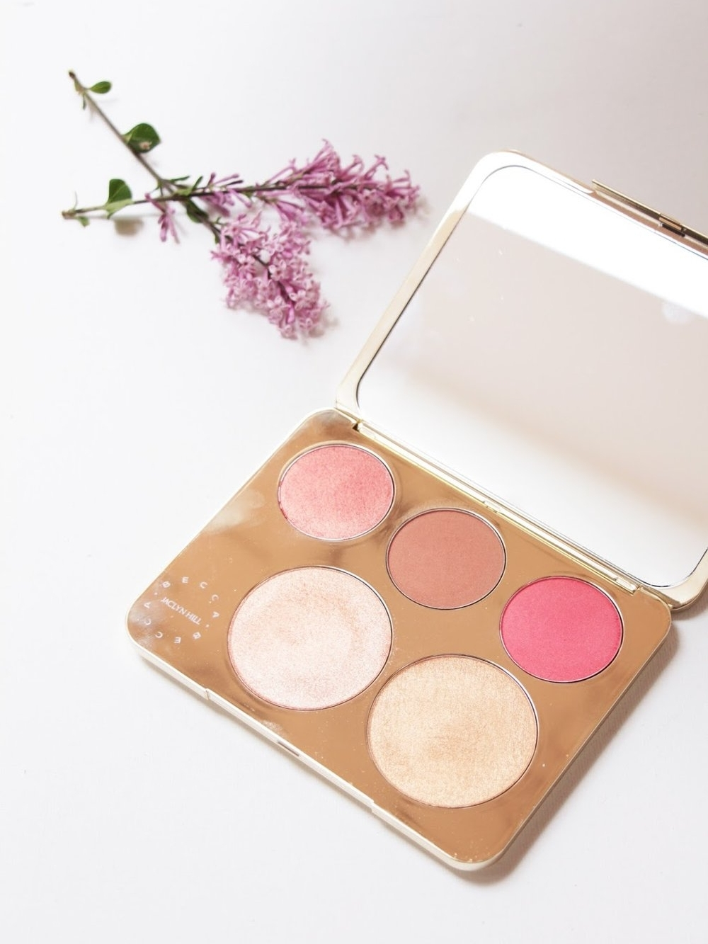 Becca Jaclyn Palette Champagne Samantha Series