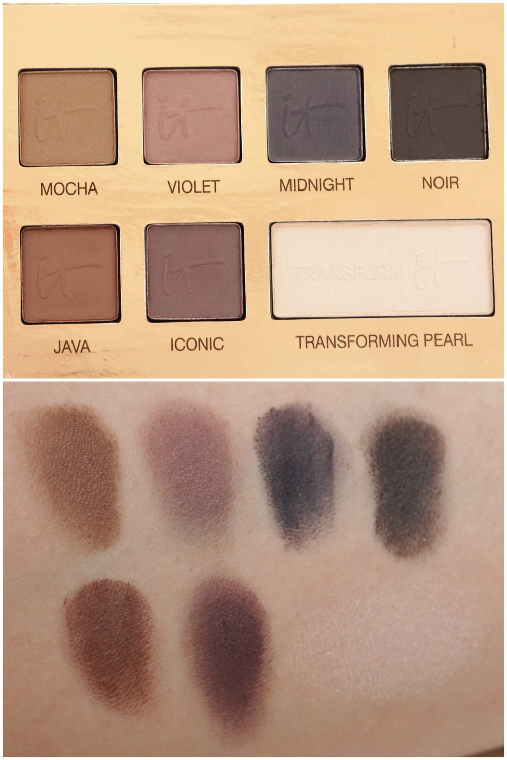 swatches it palette naturally pretty 2