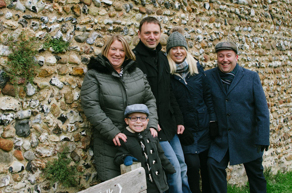 Family shoot, clare country park