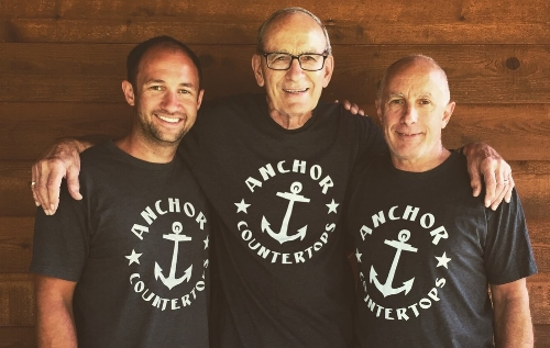Mitch, Grandpa Ted, Dad Doug