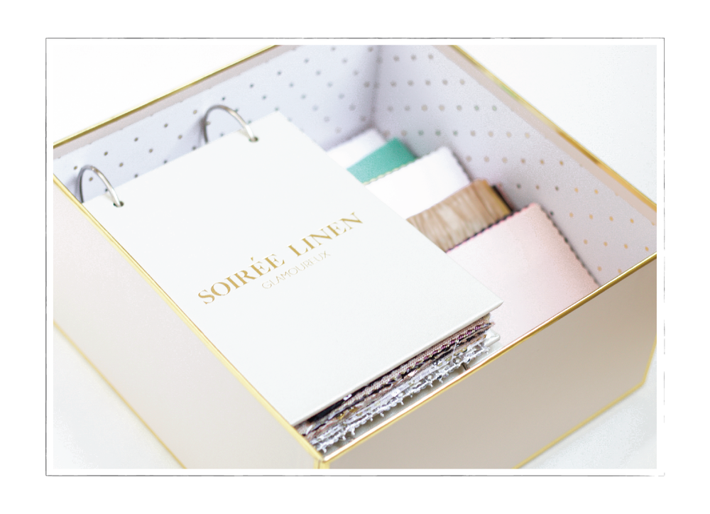 Linen Rental Swatch Books | Soiree Linen | Fort Collins Loveland Boulder Denver