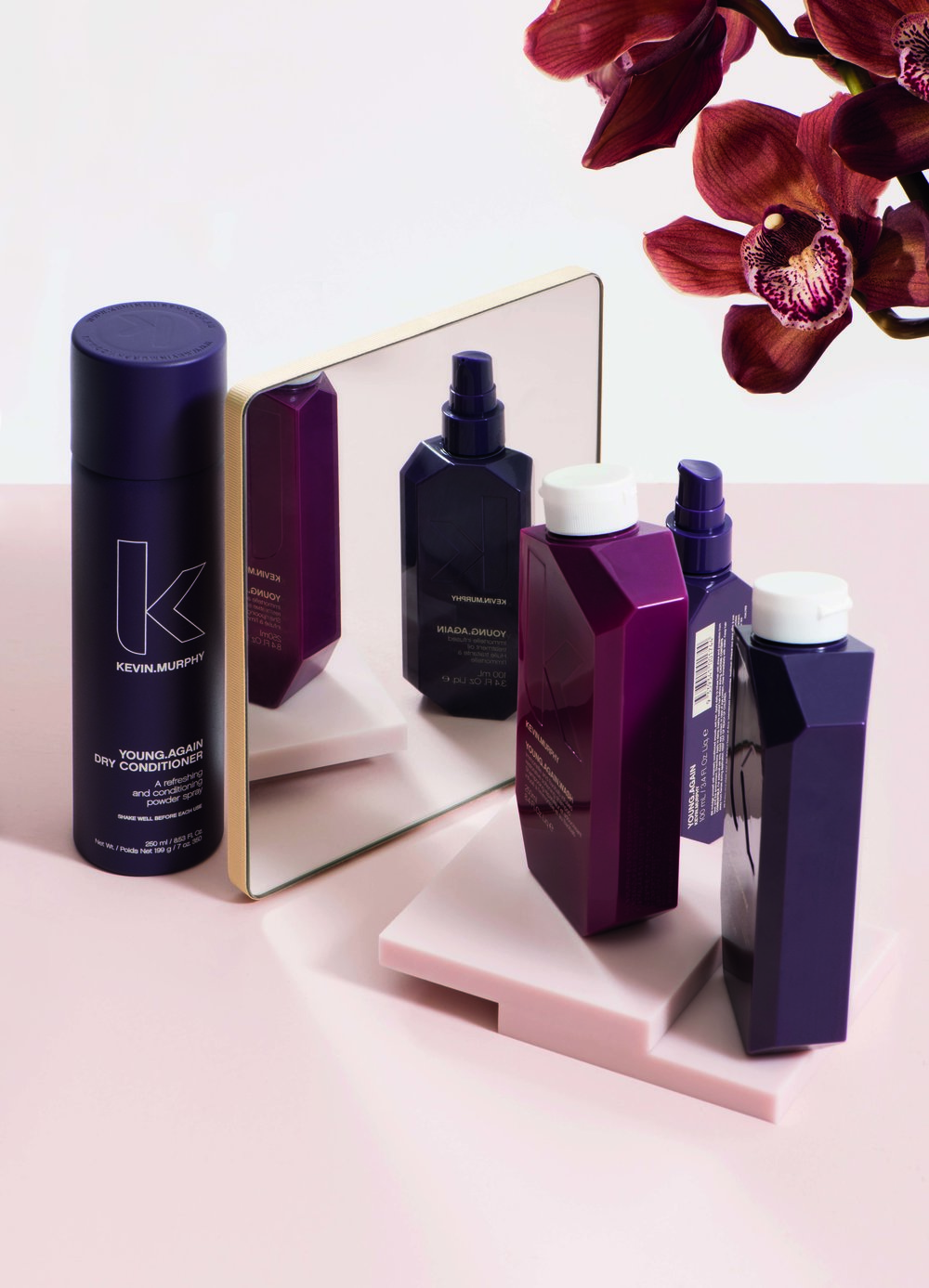 hair guide - Discover which KEVIN.MURPHY product suits you best.Graag weten welk product geschikt is voor jouw haartype?Trouvez les produits qui convients vos type des cheveux.