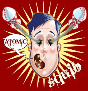 ATOMIC SQUIB LOGO – Digital illustration
