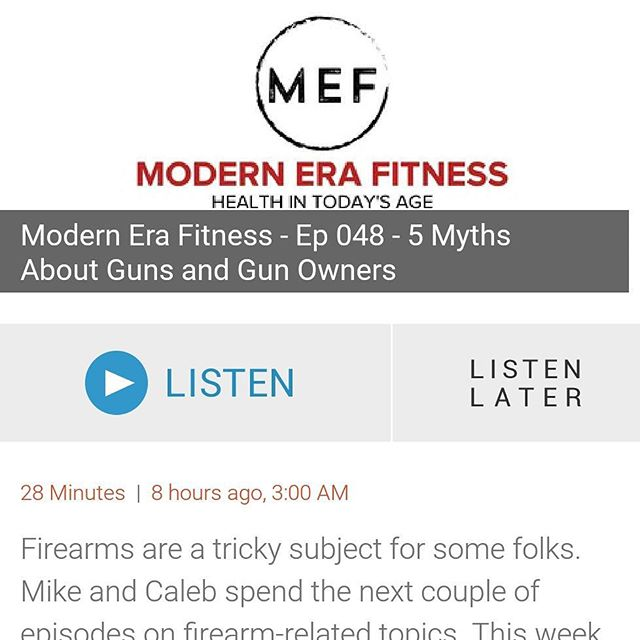 Sensitive topic for some. After listening, get in on the conversation and share your views on the subject! Differing opinions are okay!  Link to show in bio.  #mefpodcast #mefcast #fitness #nutrition #health #podcast #marine #selfdefense #protection #concealedcarry #ccl #martialarts #kajukenbo #firearm #2a #weapon #usmc