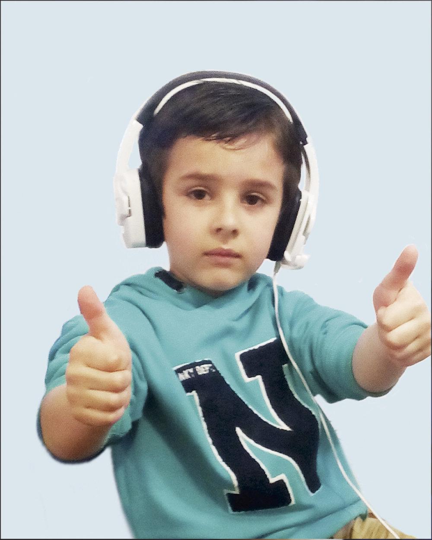 El pequeño Iker