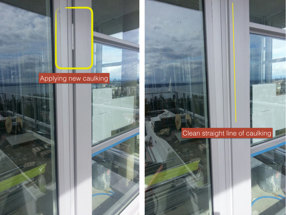 New Caulking, Windows