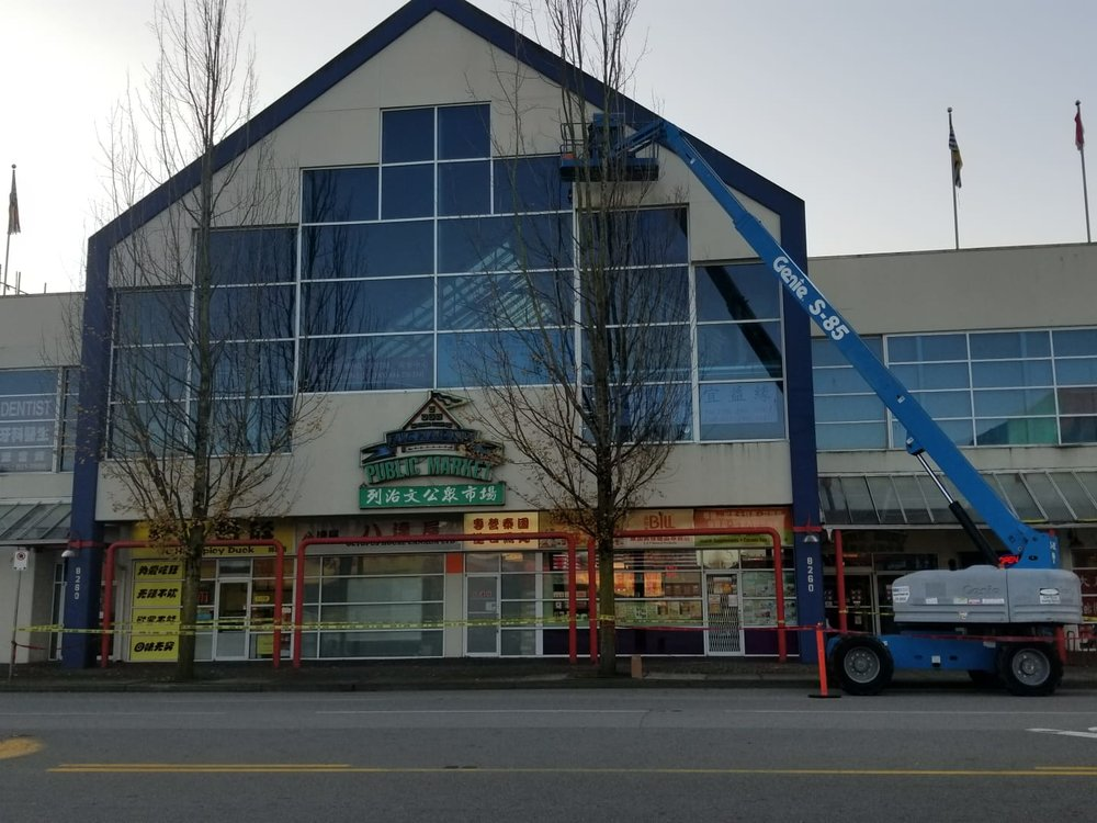 Richmond Public Market Caulking Restoration