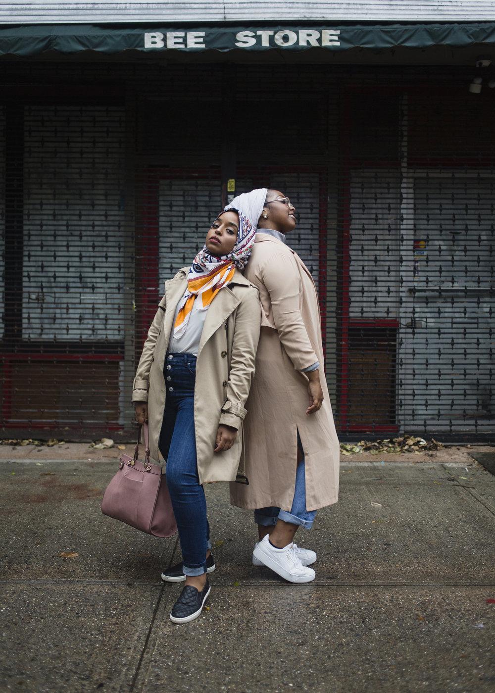 Samira and Amani  Brooklyn, 2017